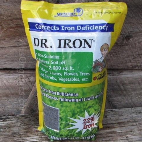 Monterey Dr. Iron Pellets. Iron DeficiencyOrganic GardeningPotted ...