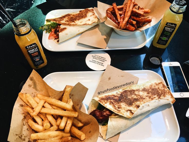 Brekkie Wraps from Charlie & Co Burgers, Westfield Sydney, Sydney AUSTRALIA  Follow @twofoodiesonediary on Instagram for more! 😘🍕
