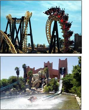 Ratanga Junction Theme Park, Cape Town, South Africa