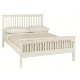 16999 the bentley designs atlanta white wooden bed frame has a character all of - Frame For Bed