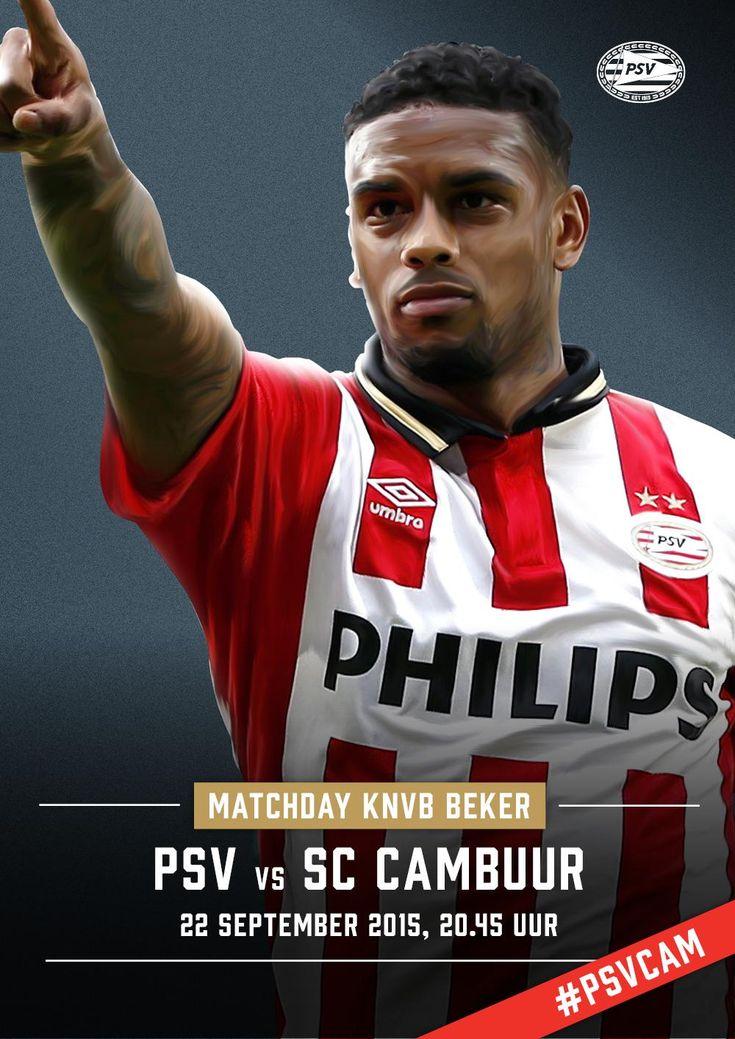 MATCHDAY! De wedstrijd vanavond, in eigen huis tegen Cambuur, staat in het teken van @SpierenvSpieren. #psvcam