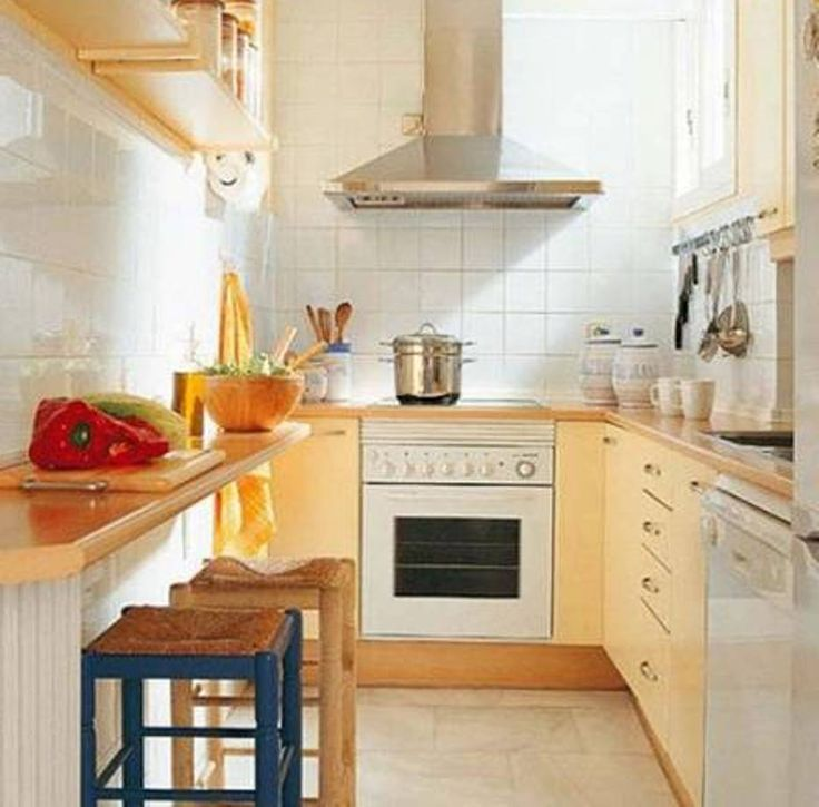 26 best kitchen ideas images on pinterest kitchen small for Galley kitchen with breakfast bar