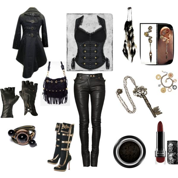 Assassin's Creed Inspired- Black, created by delaney-atkins on Polyvore