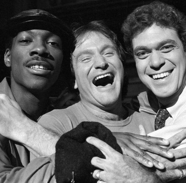 Eddie Murphy, Robin Williams & Joe Piscopo