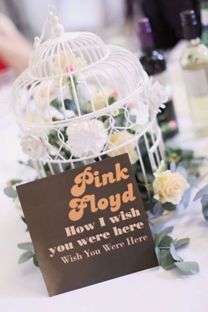 Quirky Wedding Ideas Place Settings Wedding Table Names Music