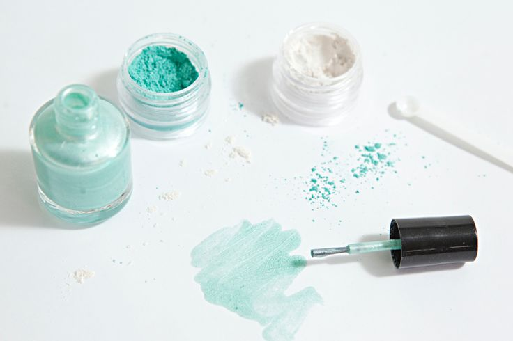 DIY Beauty - Make Your Own Nail Polish. Adorable idea for a bridal shower!