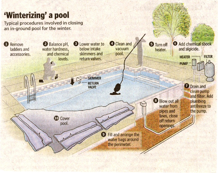 1000 images about pool infographics gunite pool winterizing a swimming pool