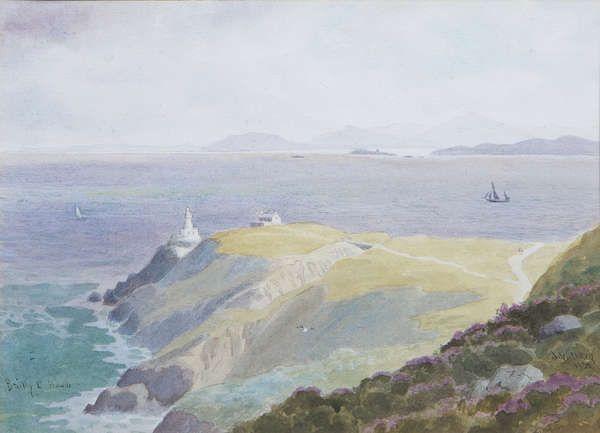 Joseph William Carey (1859-1937) - Bailly Lighthouse, Howth