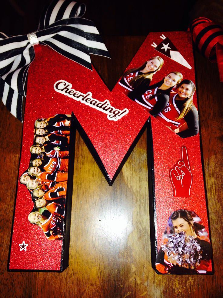 Cheerleader Gifts | DIY | Pinterest | Cheerleader gift ...