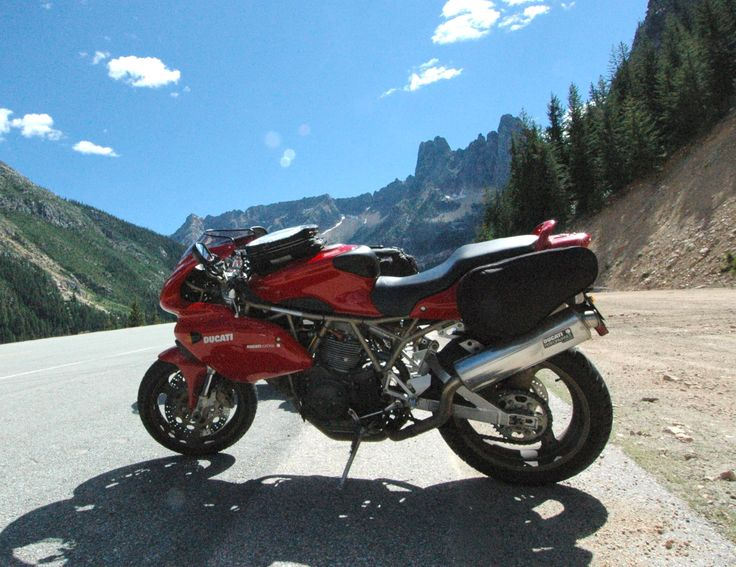 1999 Ducati 900SS: sold in 2009; here on a trip in eastern Washington