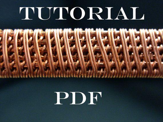 wire wrapped tutorial tutorial wire weaving pdf door MargosHandmade