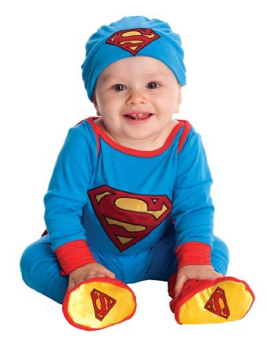 Cute Halloween Costumes for Newborn Babies. superman costume for infants