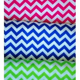 Lightweight Chevron Quilting Apparel Cotton Fabric - 3 colours