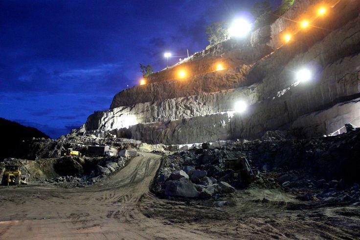 Proyecto Hidroeléctrico Ituango. Construido por el Consorcio CCC Ituango. Ituango, Antioquia, Colombia. Obra en ejecución