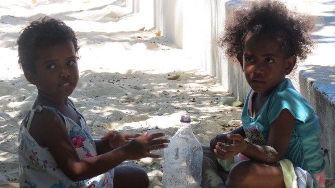 School Visit in Fiji Islands