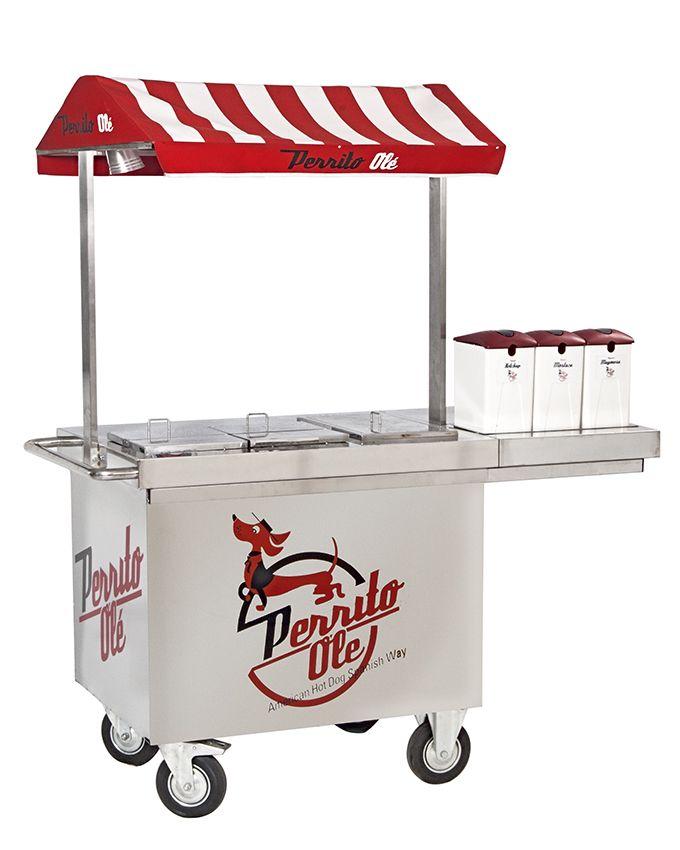 Alquila un carrito de Hot Dogs para tus fiestas | Perrito Olé