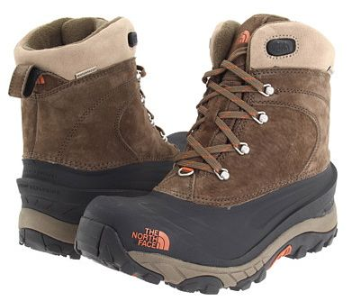 The Best Men's Snow Boots: The North Face 'Chilkat II' - Sporty Men's Snow Boots