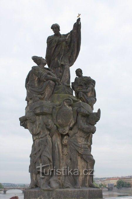 Sv. František Xaversky /1710-11