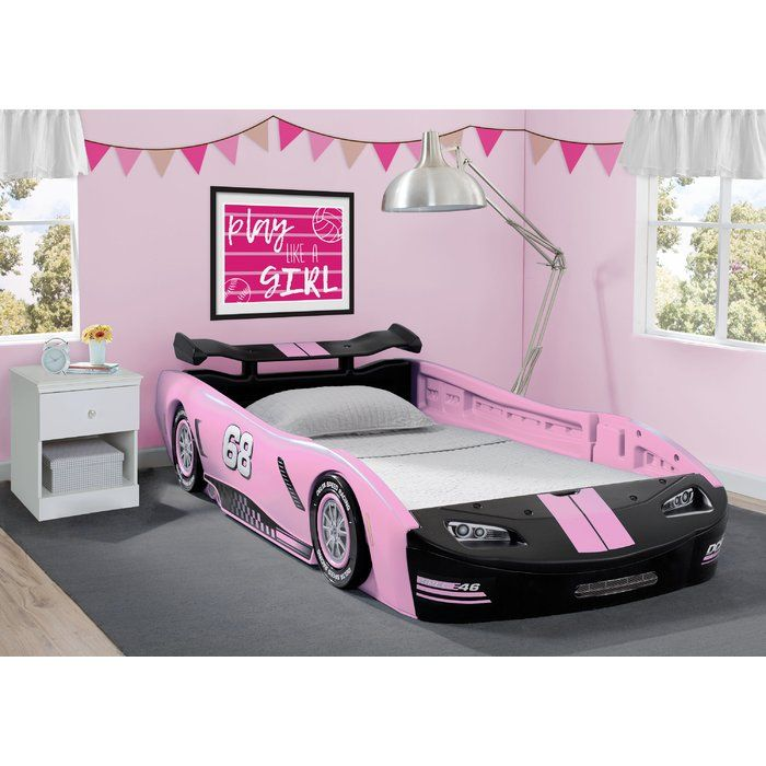 Zion Turbo Twin Car Bed Car Bed Toddler Bed Frame Pink Bedroom
