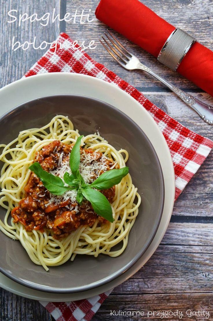Kulinarne przygody Gatity: Spaghetti bolognese