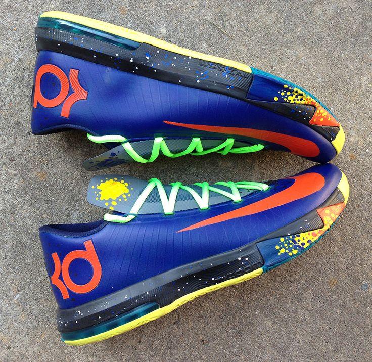 Nike Zoom KD 6 Black Royal Blue Crimson