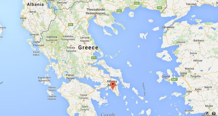 Where is Glyfada on map Greece | World Easy Guides