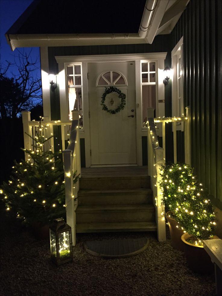 Julbelysning ute
