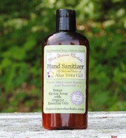 Hand Sanitizer Aloe Vera Gel