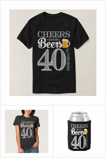 Cheers and Beers to 40 Years