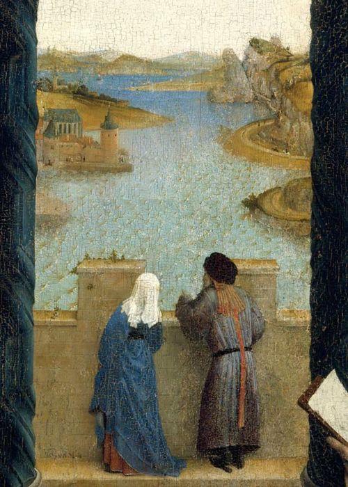 Rogier van der Weyden, Saint Luke Drawing the... - to love many things