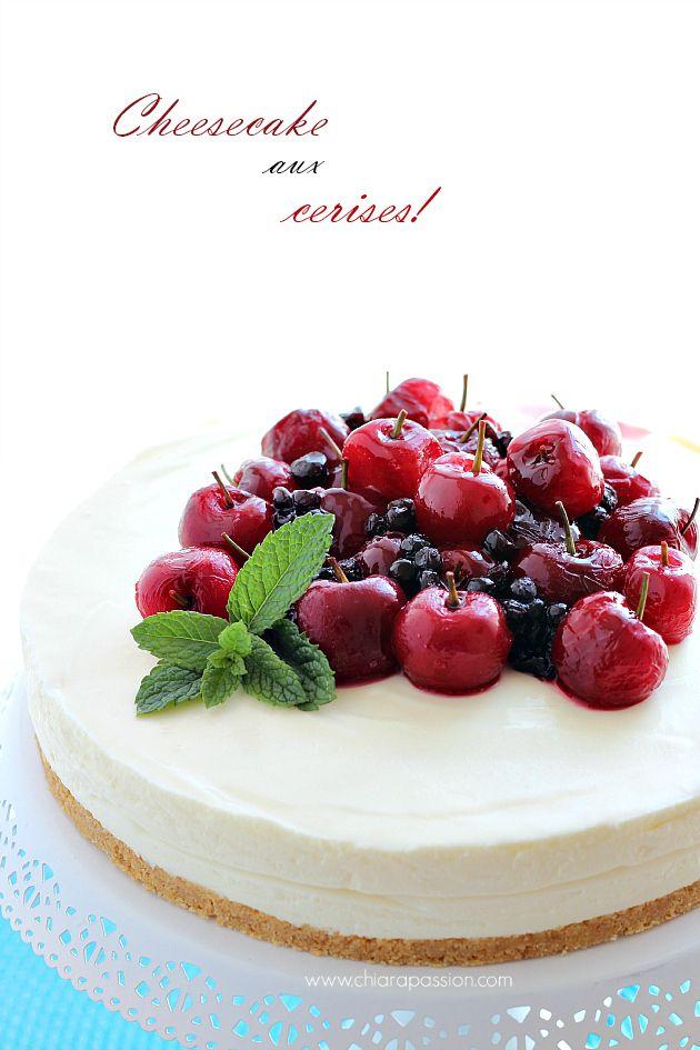 Chiarapassion: Lemon cheesecake no-bake