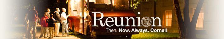Reunion | Cornell University - website idea