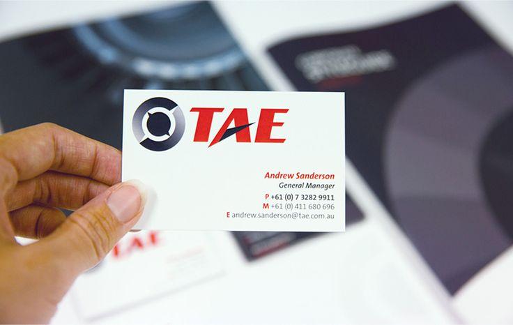 Salt Portfolio // TAE - branding - business card - corporate stationary