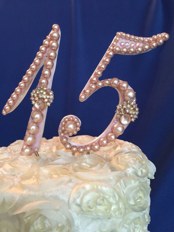 quince cake topper custom  birthday cake by TheCrystalFlower