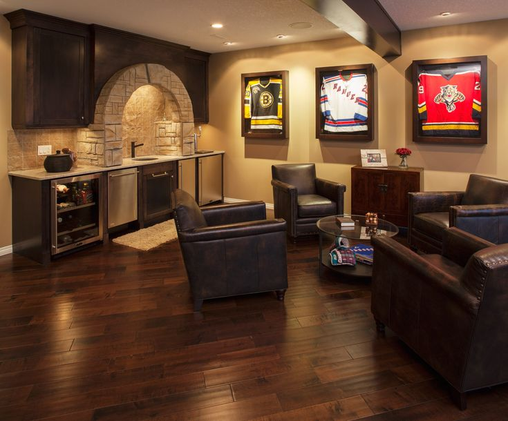 17 Best Ideas About Basement Man Caves On Pinterest
