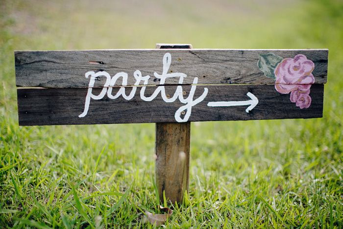 Vintage Chic 21st Birthday Party Celebration