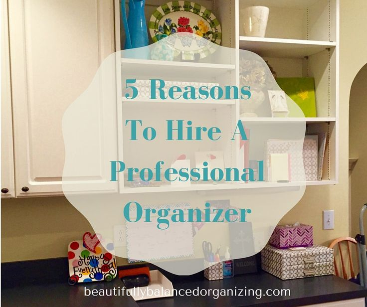 We've been talking about paper organization the last couple of weeks. But,