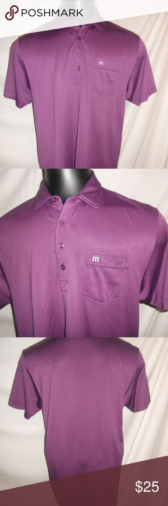 Travis Mathew Purple Golf Polo Shirt Size Large Travis Mathew Purple Golf Polo Shirt Size Large. Shirt is in excellent condition and ready for a new home. Travis Mathew Shirts Polos