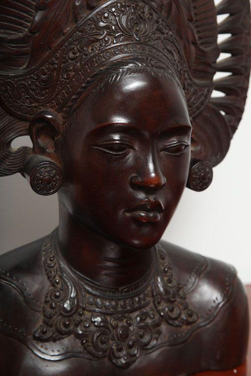 vintage balinese woodcarving - Google zoeken