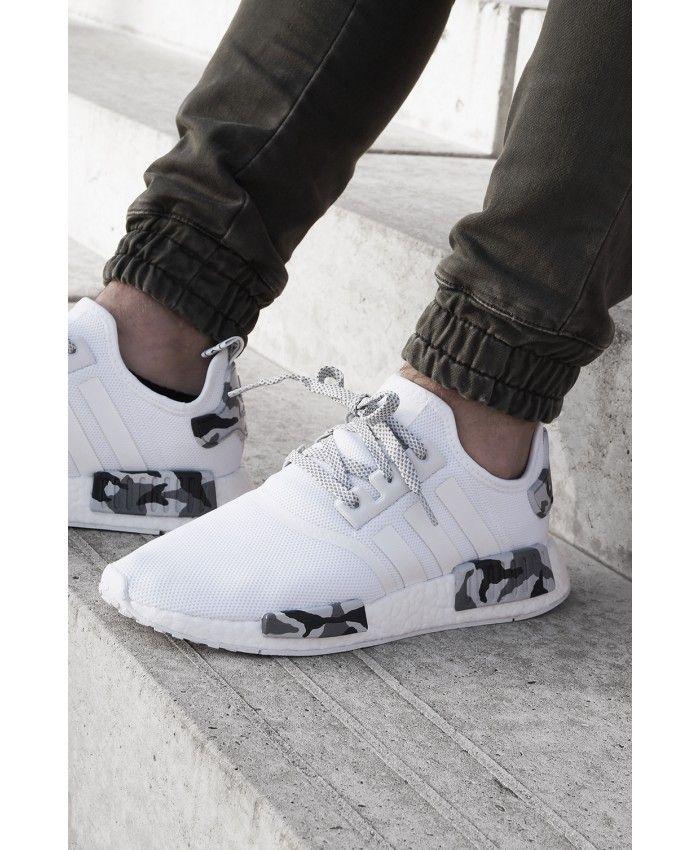 6eaf4490c2a76 Adidas Nmd Pk White Snow Camo Trainers