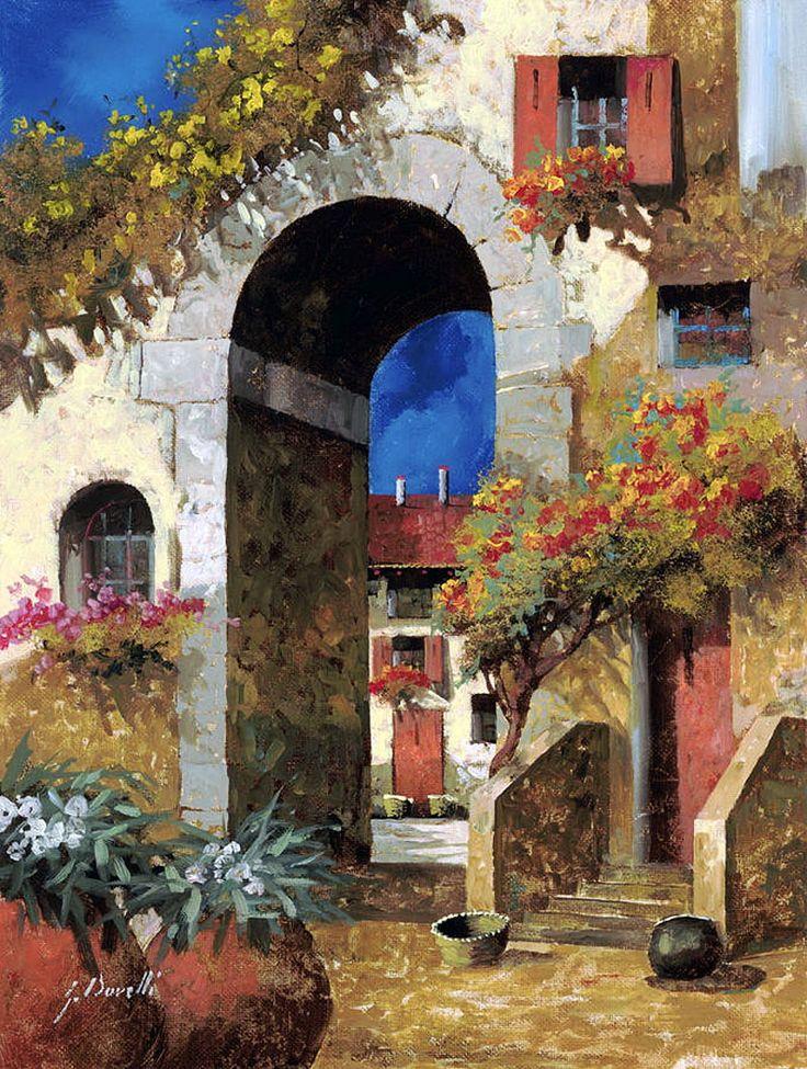 Por Amor al Arte: Calles viejas del artista Guido Borelli.
