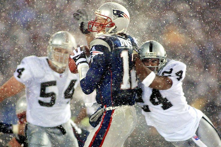 """One of the NFL's most controversial calls led to this being known as the """"Tuck Rule"""" game. An appare... - AFP/Getty Images"""
