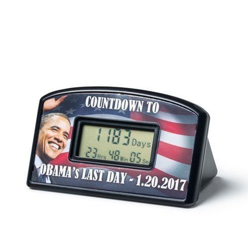 BigMouth Inc Countdown Clock & Timer - Obama's Last Day 1-20-17