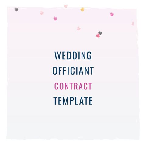 140 best contract templates images on Pinterest Role models - wedding contract template