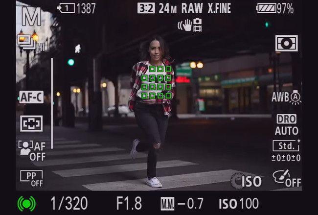 Esto es lo que se ve a través del visor de la Sony A7 III la última sin espejo full frame de la firma  #Sony #SonyAlpha #camera #photography