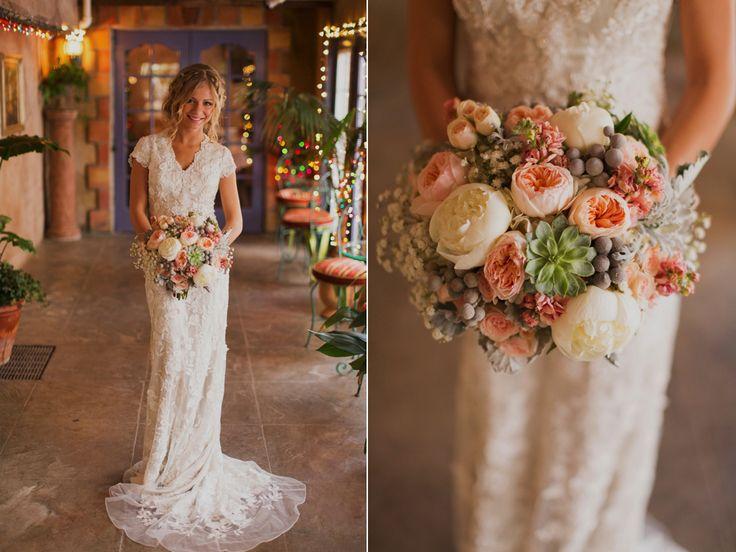 Jane Austen Inspired Wedding Utah Wedding Flowers Calie