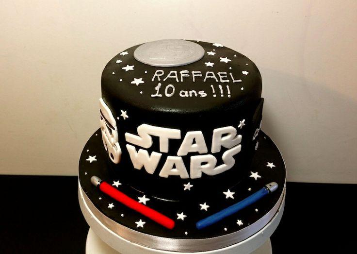 gâteau anniversaire Star wars
