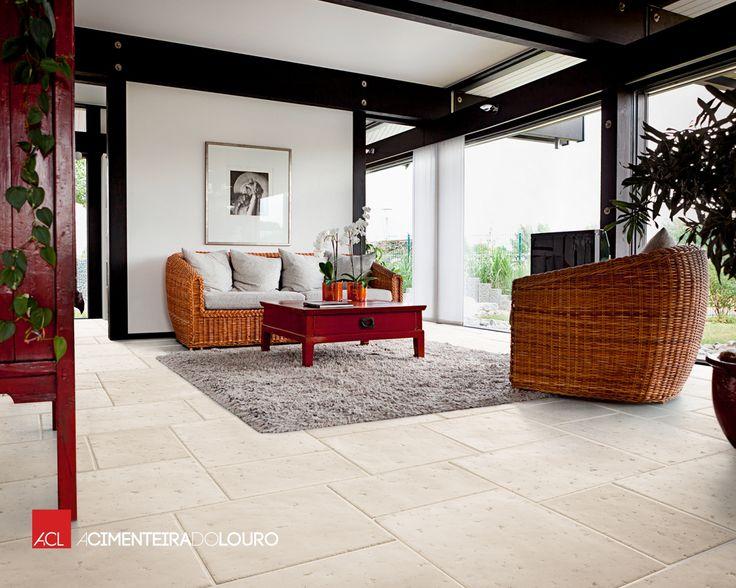 Pavimento de Betão - Romano -- Concrete Flooring - Romano