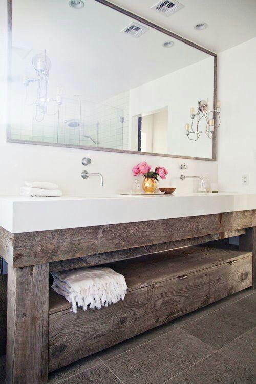 Recycled vanity