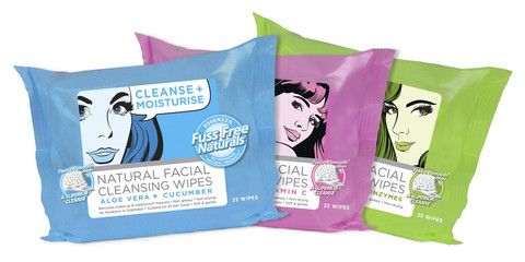 Mixed Facial Wipes 6 Bags - Fuss Free Naturals